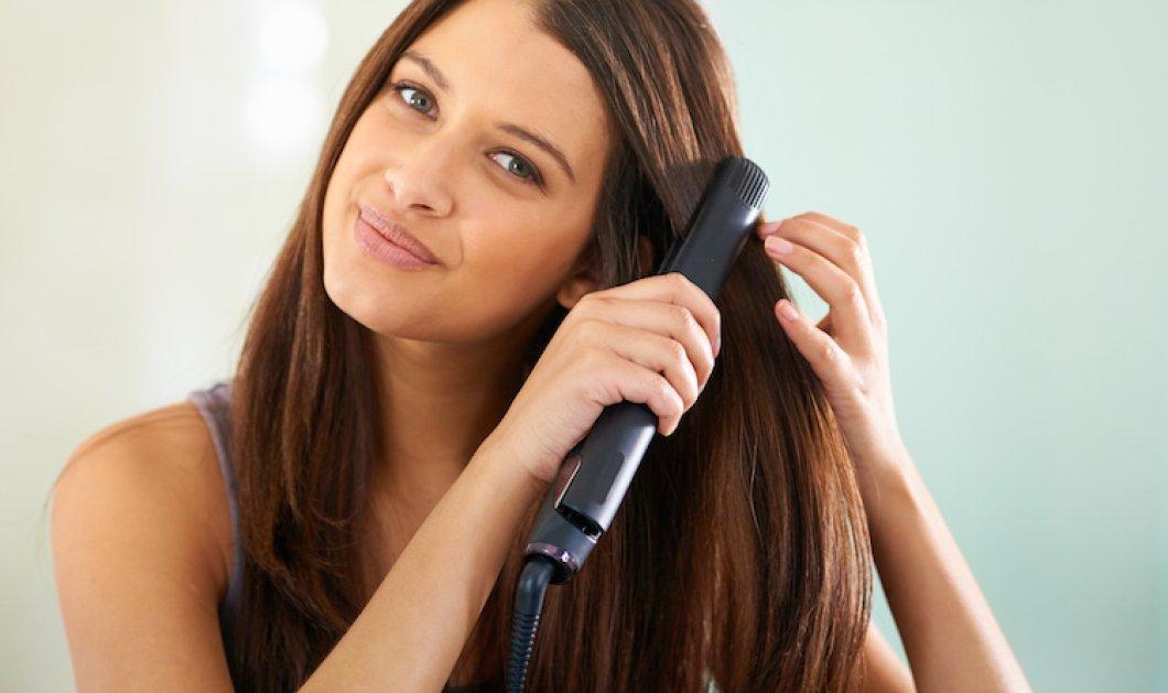Ισιώστε σωστά τα μαλλιά σας: Τι πρέπει να κάνετε για να έχετε ένα λαμπερό & όμορφο χτένισμα;    - Κυρίως Φωτογραφία - Gallery - Video