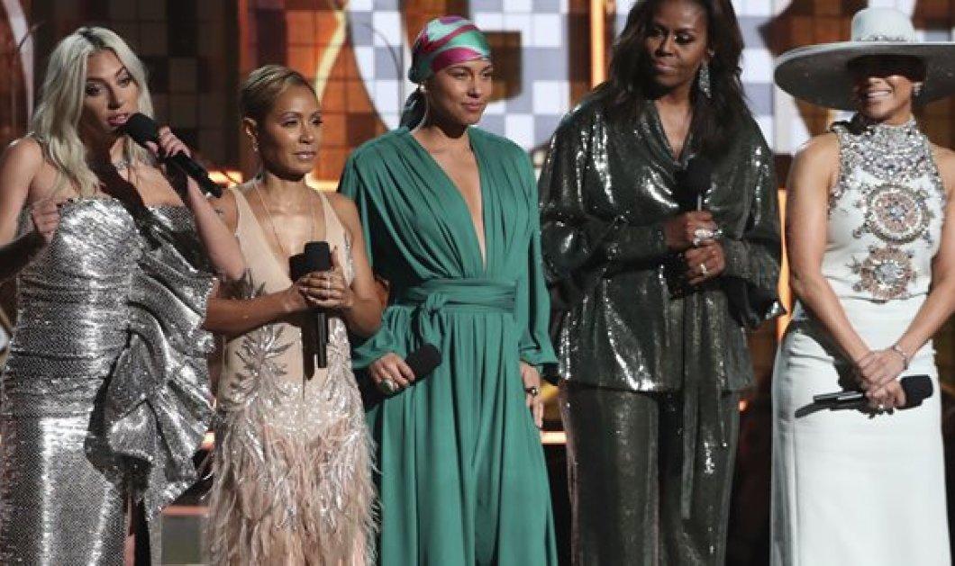 Βραβεία Grammy: Το άλλο κόκκινο χάλι! Η Μισέλ Ομπάμα guaest star, Lady Gaga νικήτρια (φωτό & βίντεο) - Κυρίως Φωτογραφία - Gallery - Video