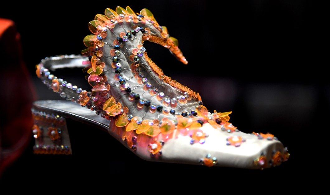 45 εκπληκτικά παπούτσια του Christian Dior σαν έργα τέχνης - Εκτίθενται στο μουσείο Victoria & Albert (φώτο) - Κυρίως Φωτογραφία - Gallery - Video