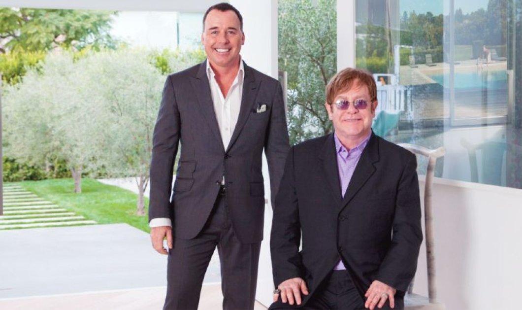 Βίντεο: Θα ζηλέψετε ή θα αντιγράψετε μια από τις 23 ιδέες διακόσμησης του Elton John στην έπαυλη του    - Κυρίως Φωτογραφία - Gallery - Video