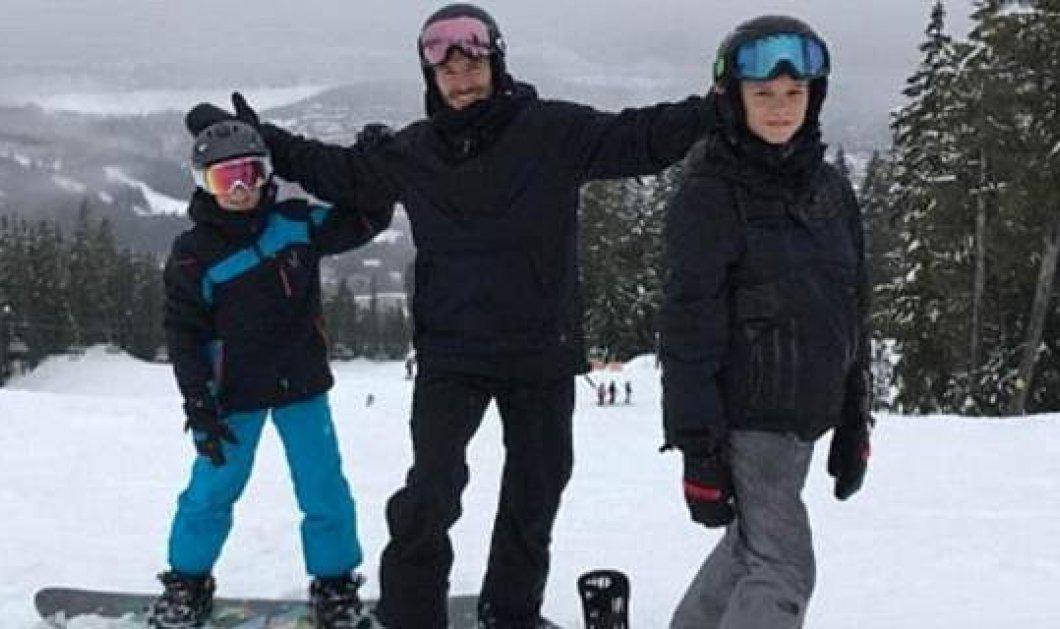 Αγνώριστη η οικογένεια Μπέκαμ – Πήγαν όλοι μαζί για σκι & πόζαραν ανέμελα - Κυρίως Φωτογραφία - Gallery - Video