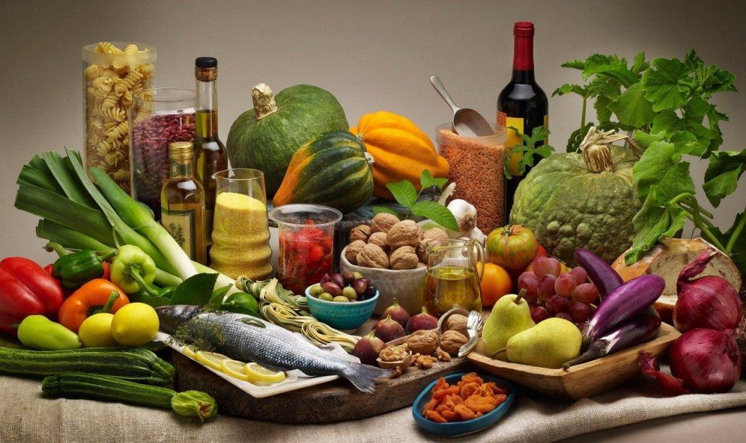 Μεσογειακή διατροφή: Τα αντιοξειδωτικά της  δρουν προληπτικά για 50 ασθένειες - Κυρίως Φωτογραφία - Gallery - Video