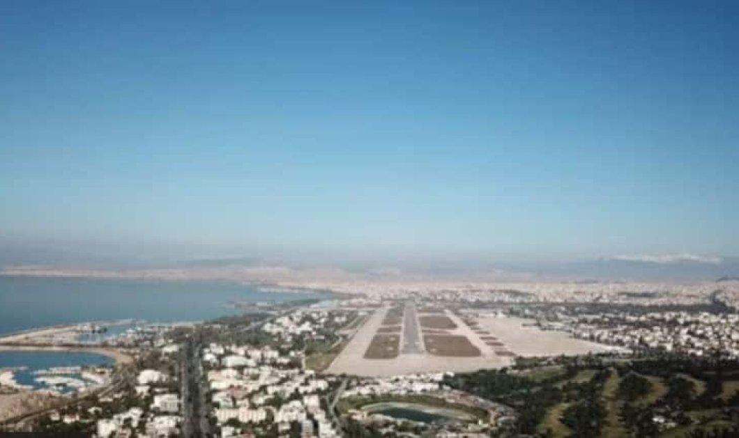 Προσγείωση μετά από 18 χρόνια στο πρώην Αεροδρόμιο Ελληνικού (Βίντεο) - Κυρίως Φωτογραφία - Gallery - Video