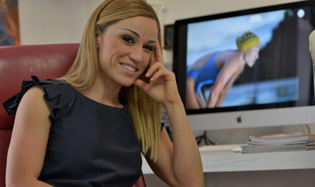 Καρολίνα Πελενδρίτου : Η παραολυμπιονίκης κολύμβησης μαχητική top woman, ερωτευμένη με τον sportscaster Δ. Χατζηγεωργίου (φώτο-βίντεο) - Κυρίως Φωτογραφία - Gallery - Video