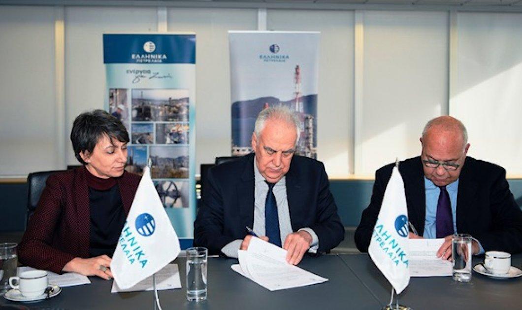 ΕΛΠΕ & Δημοκρίτειο Πανεπιστήμιο υπέγραψαν Τριετές Μνημόνιο Συνεργασίας - Κυρίως Φωτογραφία - Gallery - Video