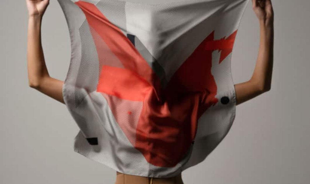 Made in Greece τα Magneto Scarves: Μεταξωτά μαντήλια με μοναδικά graphic σχέδια από τον Παντελή Βιταλιώτη - Κυρίως Φωτογραφία - Gallery - Video
