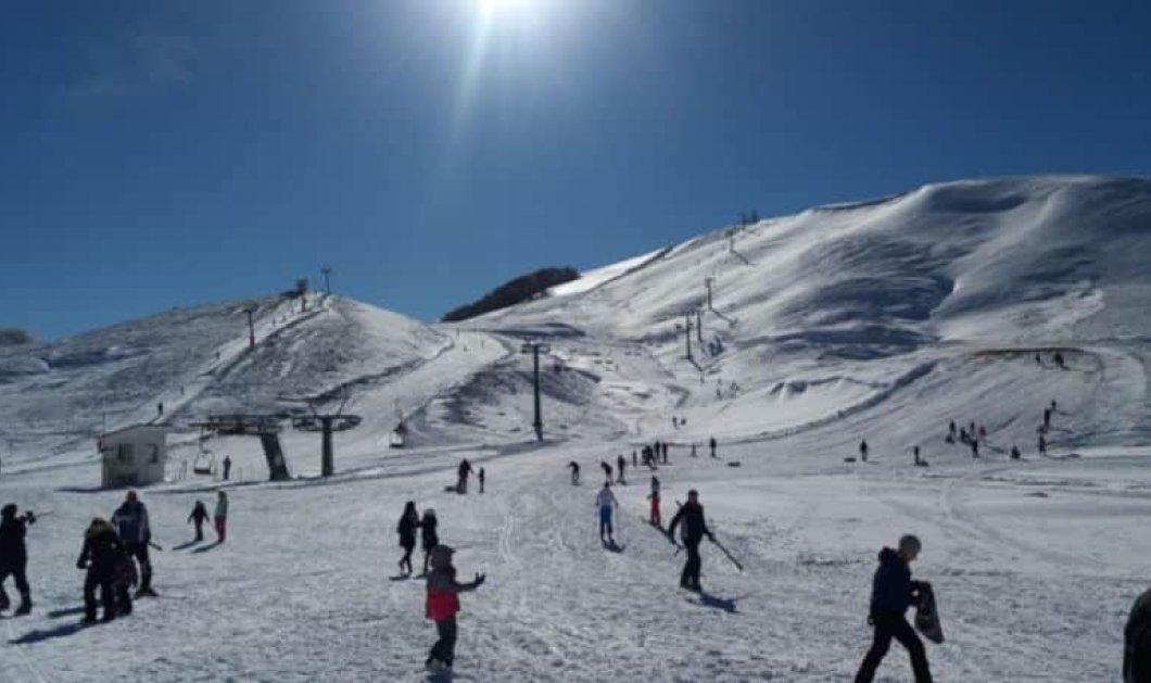 Χιόνι, φύση & ανέμελες στιγμές στο χιονοδρομικό κέντρο Ανήλιου Μετσόβου – Απίθανο βίντεο - Κυρίως Φωτογραφία - Gallery - Video