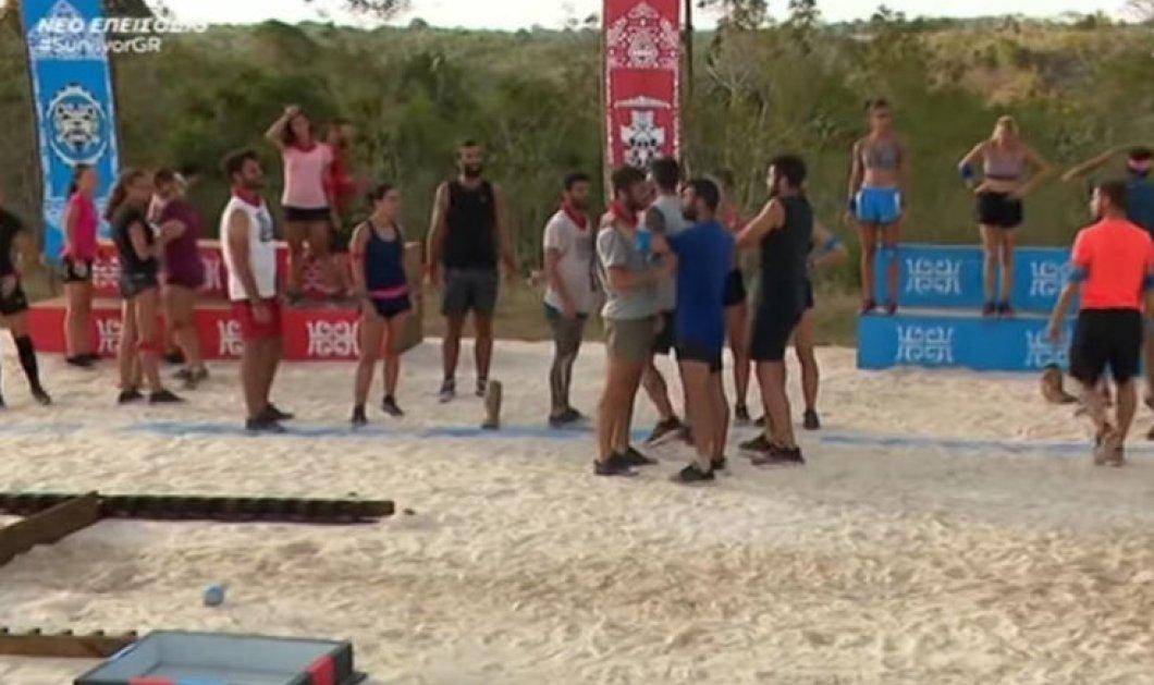 Survivor 3: Παραλίγο να πιαστούν στα χέρια οι παίκτες των δύο ομάδων – Η άσεμνη κίνηση του Τούρκου παίκτη (βίντεο) - Κυρίως Φωτογραφία - Gallery - Video