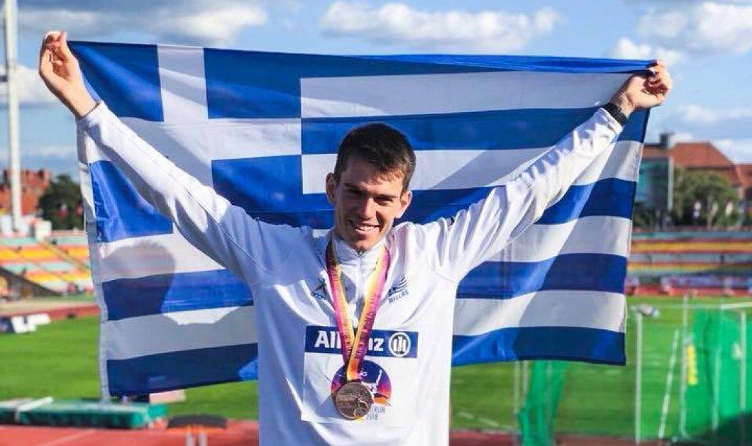"""Στέλιος Μαλακόπουλος: """"Ξύπνησα χωρίς πόδια - Πέρασαν 3 χρόνια και τώρα είμαι παγκόσμιος πρωταθλητής"""" (βίντεο)  - Κυρίως Φωτογραφία - Gallery - Video"""