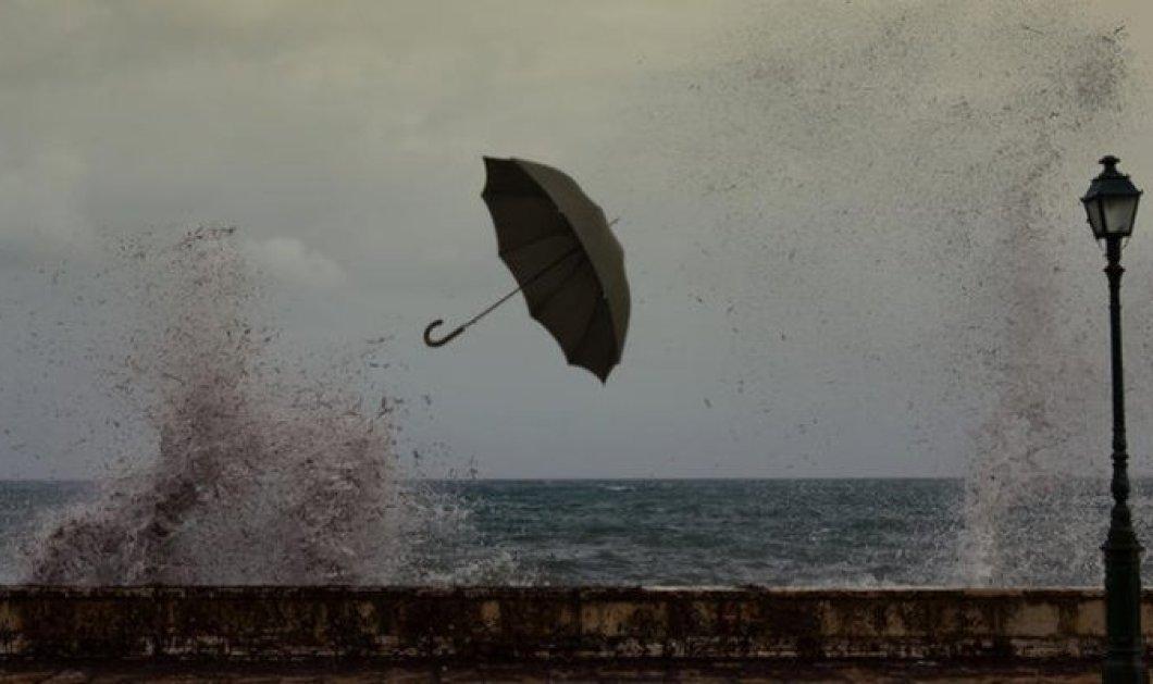 Το όνομα αυτής.... «Ωκεανίς» - Έρχεται το νέο κύμα κακοκαιρίας με ισχυρές βροχές και καταιγίδες - Κυρίως Φωτογραφία - Gallery - Video