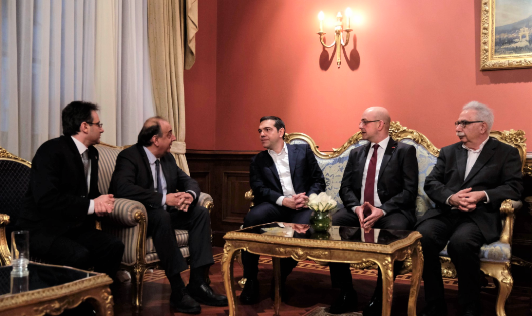 Τσίπρας - Γιλντιρίμ στο παλάτι Ντολμά Μπαχτσέ - Η συζήτηση με τους Ρωμιούς της Πόλης - Κυρίως Φωτογραφία - Gallery - Video