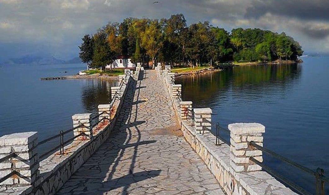 Κουκουμίτσα Αιτωλοακαρνανίας: Το νησάκι που προσεγγίζεις με τα πόδια γραφικό & μαγικό για περιπάτους  - Κυρίως Φωτογραφία - Gallery - Video