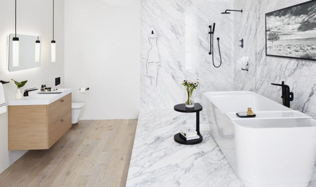 Έχεις μικρό μπάνιο; Αυτές οι 33 ιδέες θα το κάνουν να δείχνει μεγαλύτερο  - Κυρίως Φωτογραφία - Gallery - Video