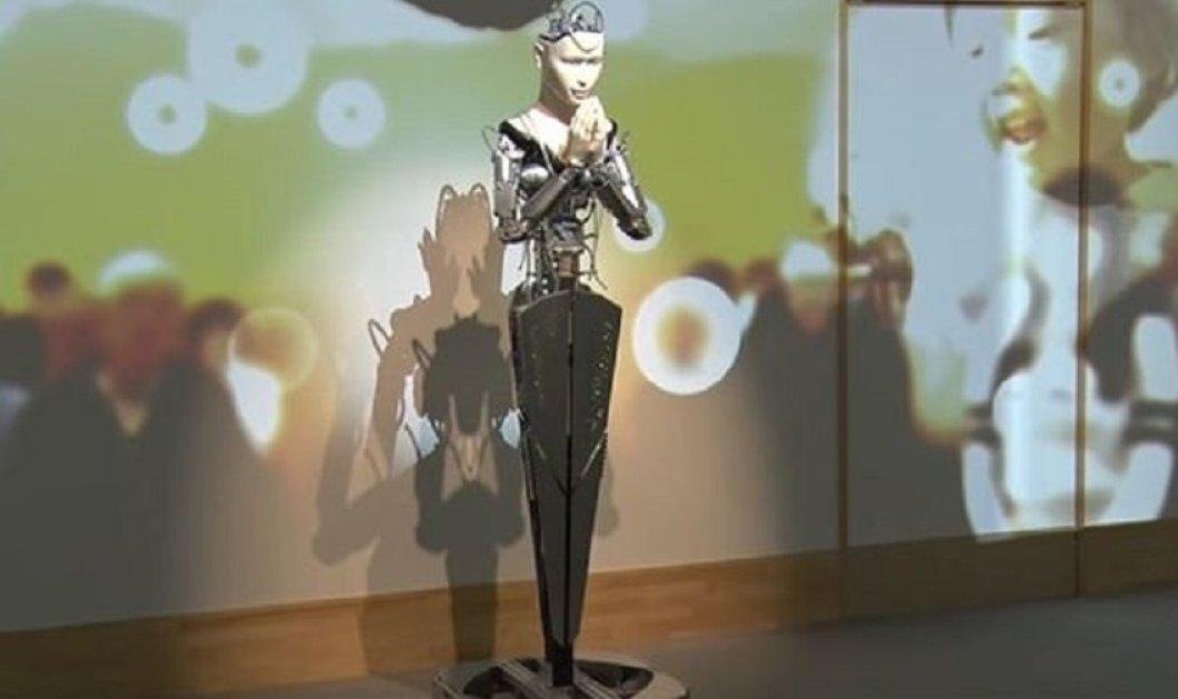 """Τη λένε """"Μιντάρ"""" είναι η """"Θεά"""" που διδάσκει καλοσύνη σε αρχαίο βουδιστικό ναό και είναι... ρομπότ (φώτο-βίντεο) - Κυρίως Φωτογραφία - Gallery - Video"""