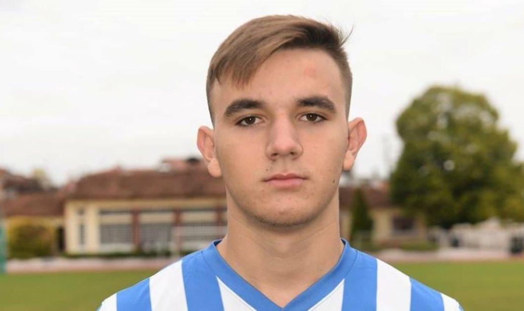 Θρήνος στην Ημαθία από τον ξαφνικό και άδικο χαμό 17χρονου ποδοσφαιριστή - Κατέρρευσε  μέσα στο γήπεδο  - Κυρίως Φωτογραφία - Gallery - Video