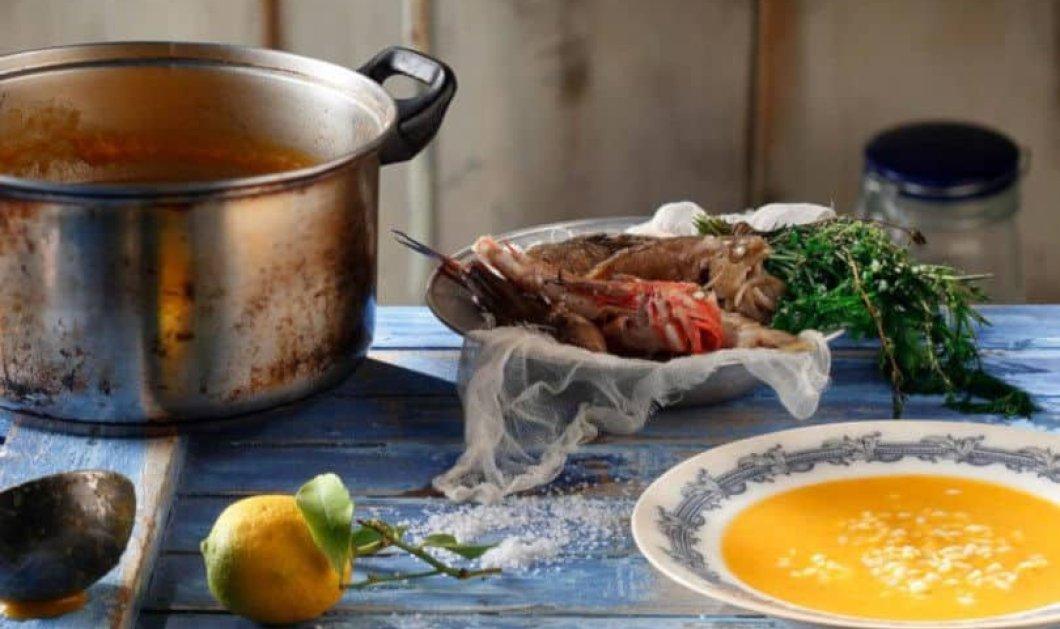 Αργυρώ Μπαρμπαρίγου: Παραδοσιακή ψαρόσουπα ιδανική για τα κρύα του χειμώνα – Καταπληκτική με ή χωρίς αυγολέμονο - Κυρίως Φωτογραφία - Gallery - Video