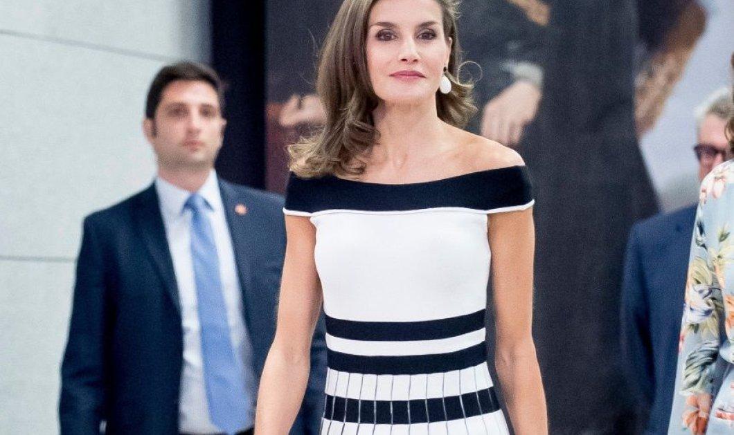 Εντυπωσιακή εμφάνιση για άλλη μια φορά για την Βασίλισσα Λετίσια - Το φόρεμα κοστίζει μόνο 20 δολάρια - Κυρίως Φωτογραφία - Gallery - Video