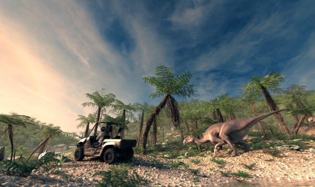 """Οι δεινόσαυροι κατέφθασαν στην Αθήνα - Μεγάλοι & παιδιά μπροστά στο """"θαύμα ενός υπερθεάματος""""  - Κυρίως Φωτογραφία - Gallery - Video"""