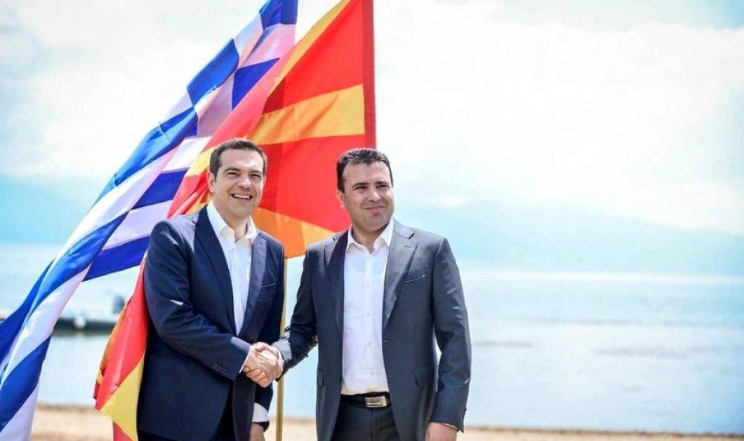 Η ΠΓΔΜ γίνεται Βόρεια Μακεδονία: Οι πινακίδες είναι έτοιμες - Η Ελλάδα σήμερα στέλνει τη ρηματική διακοίνωση (Φωτό) - Κυρίως Φωτογραφία - Gallery - Video