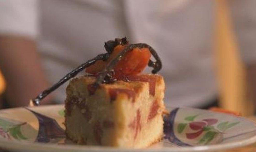 Στέλιος Παρλιάρος: Γευστικότατη αμυγδαλόπιτα με κυδώνια - Κυρίως Φωτογραφία - Gallery - Video
