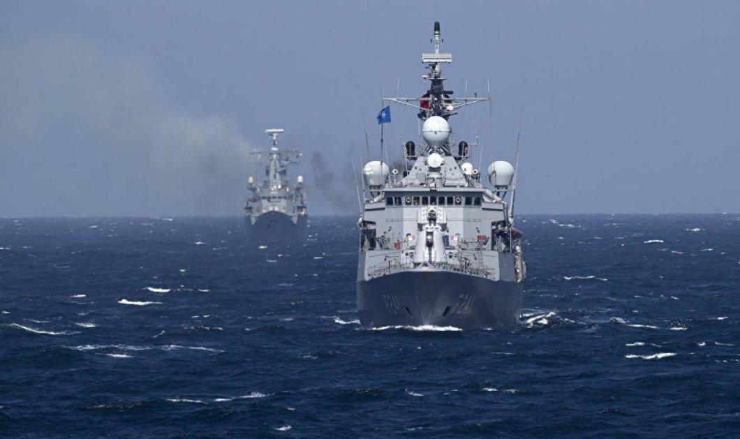 «Γαλάζια Πατρίδα»: Γιγάντια πολεμική άσκηση με 102 πλοία της Τουρκίας σε Αιγαίο-Μεσόγειο - Οι αντιδράσεις - Κυρίως Φωτογραφία - Gallery - Video
