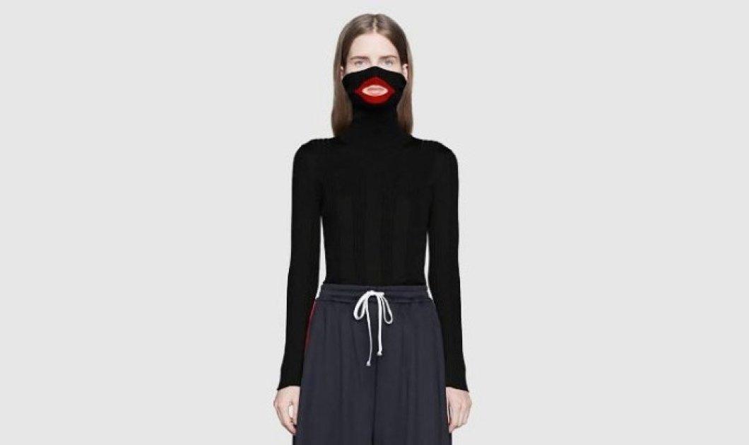 Σάλος με το μαύρο πουλόβερ του Gucci: Το αποσύρει γιατί τα κόκκινα χείλη του παραπέμπουν σε ρατσισμό (φωτό) - Κυρίως Φωτογραφία - Gallery - Video