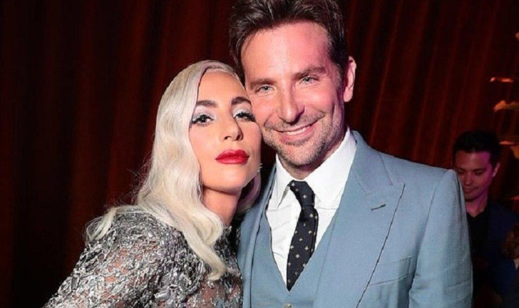 Τελικά υπάρχει καπνός - υπάρχει φωτιά: Κόκκινο κραγιόν... στα χείλη του Μπράντλεϊ Κούπερ από την Lady Gaga (φώτο) - Κυρίως Φωτογραφία - Gallery - Video