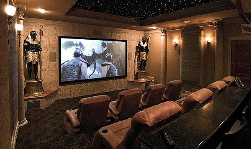 Υπέροχες ιδέες για δωμάτια - σινεμά που θα σας κάνουν να γίνετε movie lovers (φωτό) - Κυρίως Φωτογραφία - Gallery - Video