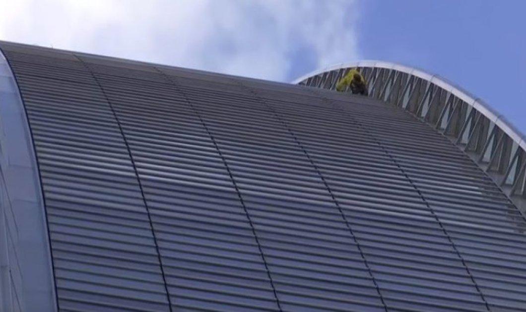 Βίντεο: Γάλλος «Spiderman» σκαρφάλωσε σε ουρανοξύστη ύψους 185 μέτρων - Κυρίως Φωτογραφία - Gallery - Video
