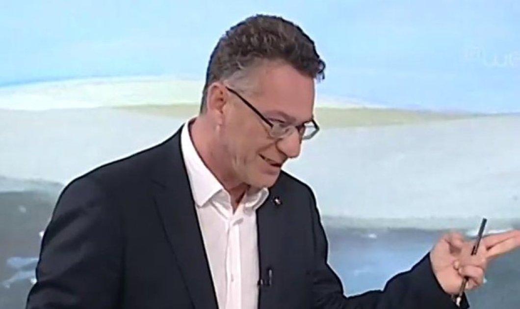 """Ο Κώστας Αρβανίτης on air στην ΕΡΤ πληροφορείται ότι είναι υποψήφιος Ευρωβουλευτής του ΣΥΡΙΖΑ : """"Άστα να πάνε στο δι@ολο"""" (βίντεο)  - Κυρίως Φωτογραφία - Gallery - Video"""
