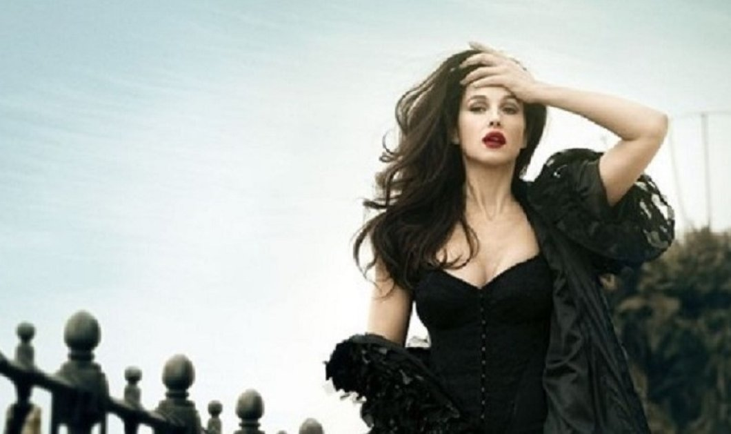 Ξανθιά προτιμάτε την Ιταλίδα γόησσα Μόνικα Μπελούτσι ή μελαχροινή γοργόνα; (φώτο) - Κυρίως Φωτογραφία - Gallery - Video