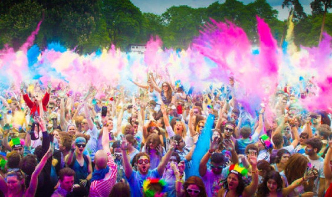 30 φωτογραφίες από το πιο πολύχρωμο φεστιβάλ του κόσμου - Το συναρπαστικό Holi θα σας γοητεύσει - Κυρίως Φωτογραφία - Gallery - Video