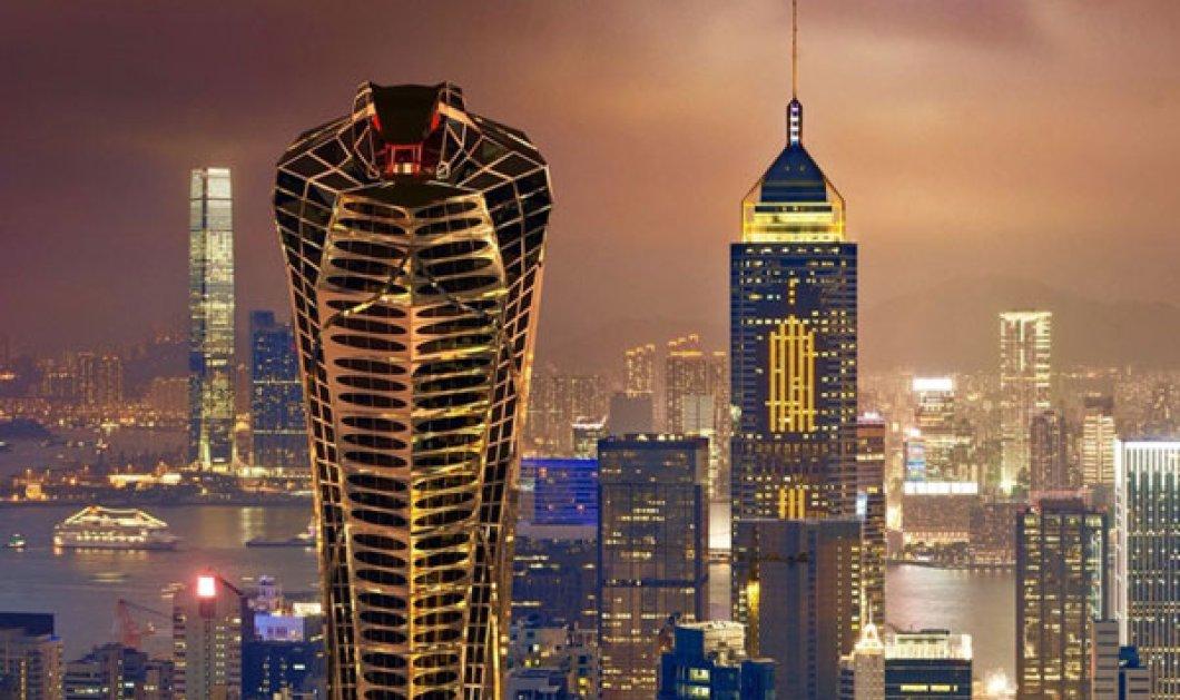 Μεγαλοπρεπής ή κακόγουστος; Τι λέτε για τον Ουρανοξύστη σε σχήμα κόμπρας; (φωτό & βίντεο) - Κυρίως Φωτογραφία - Gallery - Video