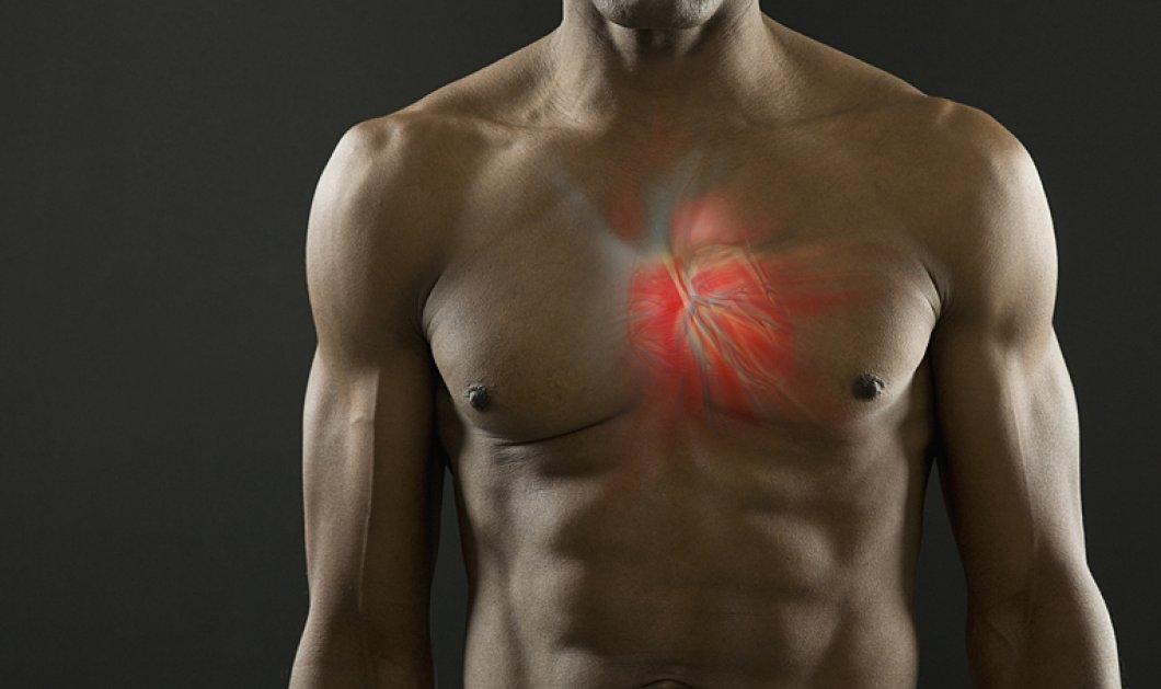 Οι άνδρες με υψηλά επίπεδα τεστοστερόνης κινδυνεύουν με καρδιοπάθεια - Κυρίως Φωτογραφία - Gallery - Video