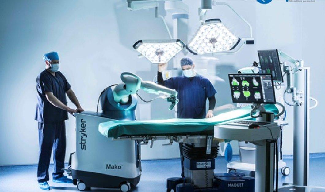 6.ΥΓΕΙΑ: Πρωτοπορεί στην εκπαίδευση ιατρών από Ενωμένα Αραβικά Εμιράτα & Σαουδική Αραβία στη ρομποτική ορθοπαιδική χειρουργική - Κυρίως Φωτογραφία - Gallery - Video