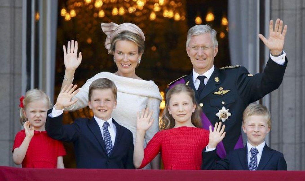 Πως υποδέχεται μια βασιλική οικογένεια την άνοιξη;  - Σαν πίνακας ζωγραφικής Φλαμανδού ζωγράφου (φωτό) - Κυρίως Φωτογραφία - Gallery - Video