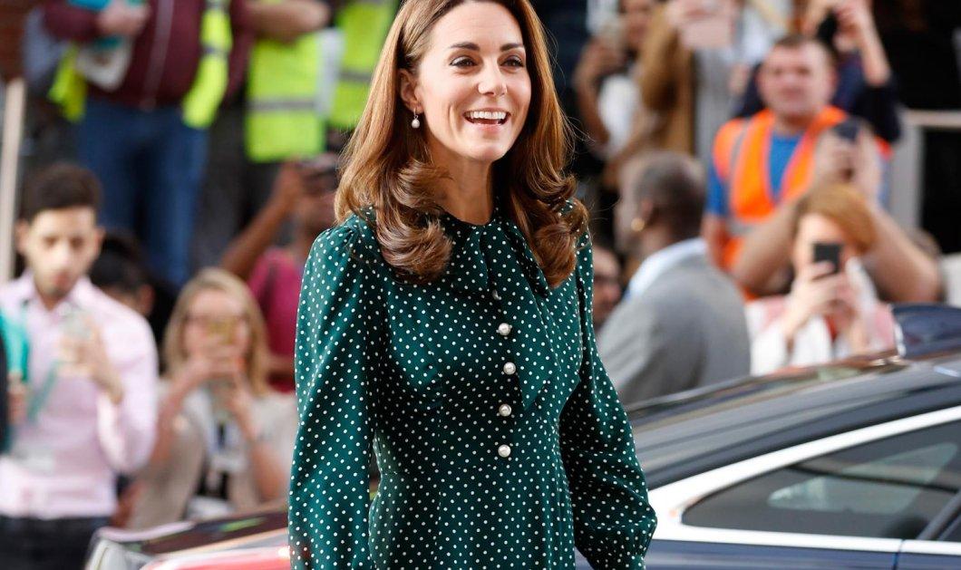 O ορισμός του Floral: Η Kate Middleton πήγε με τον Πρίγκιπα σύζυγό της σε gala με παλιό maxi AlexanderMcQueen  - Κυρίως Φωτογραφία - Gallery - Video