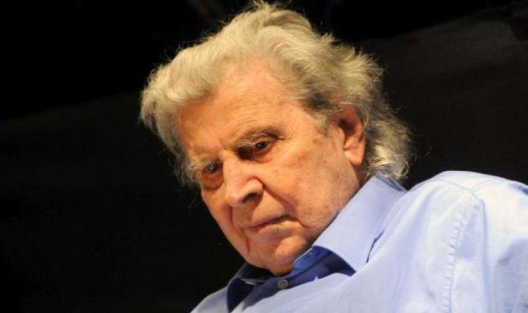 Εσπευσμένα στο χειρουργείο ο Μίκης Θεοδωράκης - Ώρες αγωνίας για τον μεγάλο μουσικοσυνθέτη  - Κυρίως Φωτογραφία - Gallery - Video