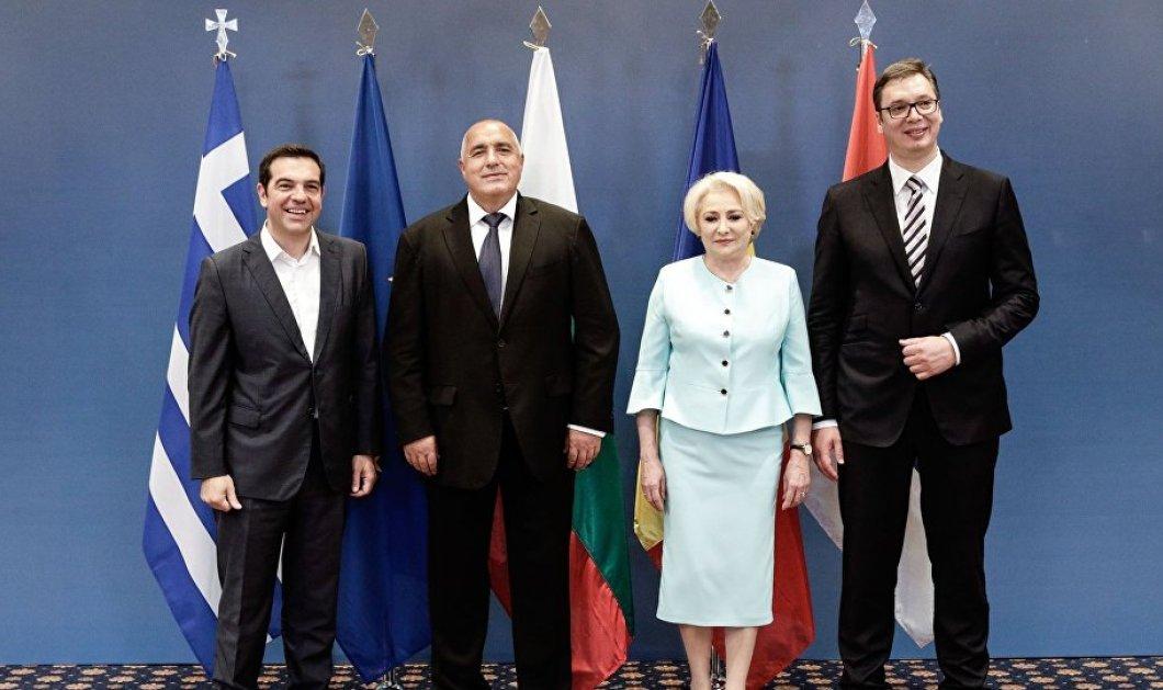 Δείτε Live την κοινή συνέντευξη τύπου μετά την τετραμερή συνάντηση Ελλάδας - Ρουμανίας - Σερβίας - Βουλγαρίας (βίντεο)  - Κυρίως Φωτογραφία - Gallery - Video