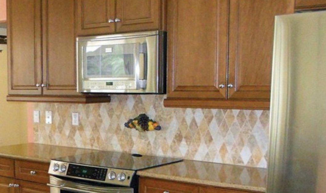 Εξαιρετικές εικόνες από μια κουζίνα πριν & μετά: Έγινε αγνώριστη με μόνο λίγο χρώμα - Φώτο - Κυρίως Φωτογραφία - Gallery - Video