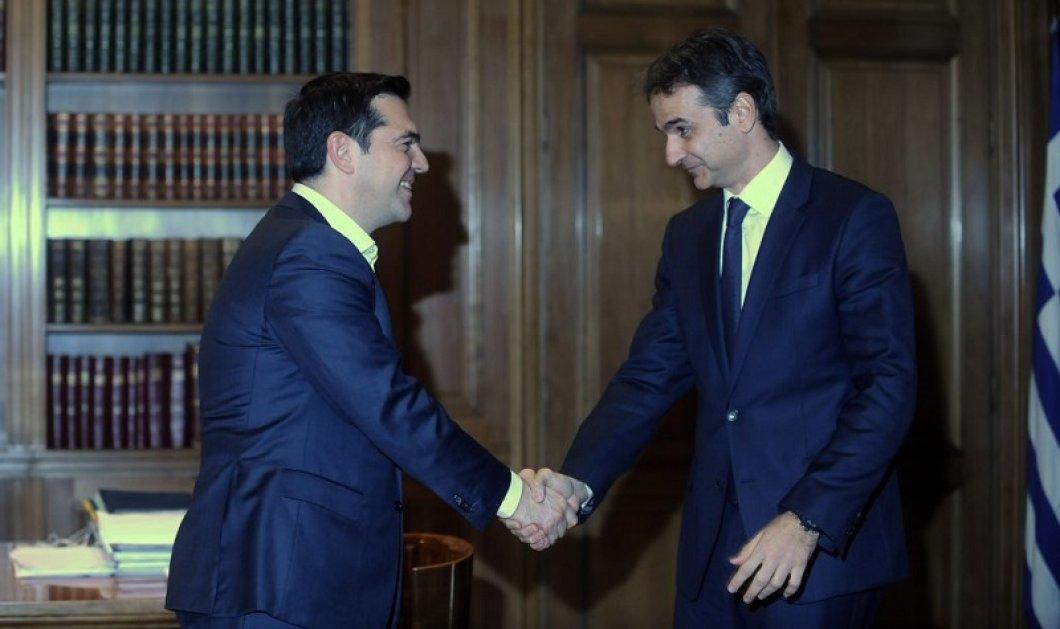 Τελικά τον «έχει» ο Αλέξης τον Κυριάκο; Ο Θανάσης Μαυρίδης κάνει ένα crash test ανάμεσα στους 2 πολιτικούς αρχηγούς - Κυρίως Φωτογραφία - Gallery - Video