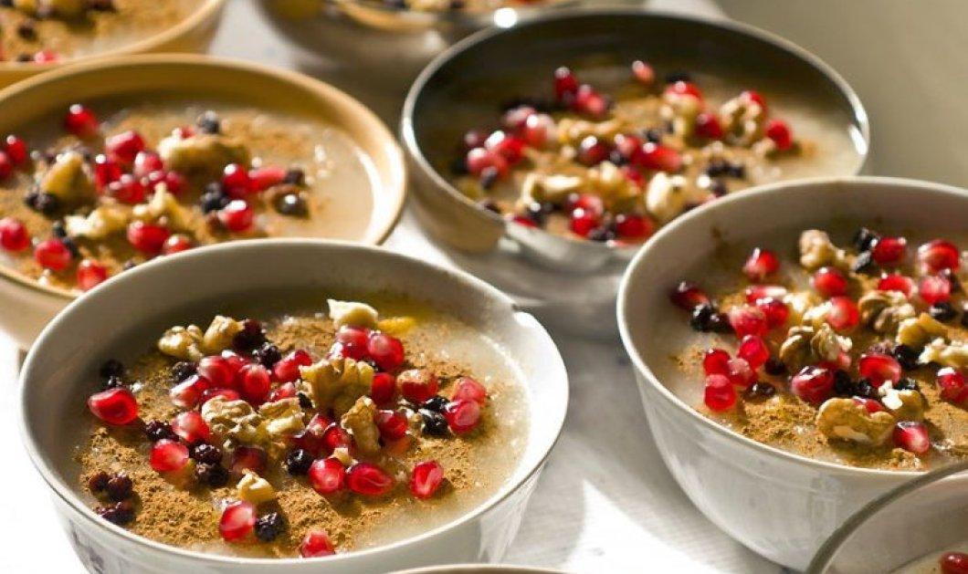 Η Αργυρώ Μπαρμπαρίγου προτείνει για γλυκό ημέρας: Υγιεινό και πολύ θρεπτικό ασουρέ!  - Κυρίως Φωτογραφία - Gallery - Video