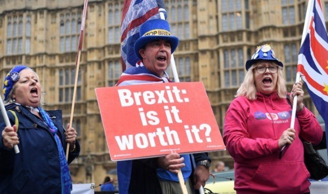 Aντίστροφη μέτρηση για το Brexit - Τέσσερα σενάρια, δεκαπέντε μέρες - Κυρίως Φωτογραφία - Gallery - Video