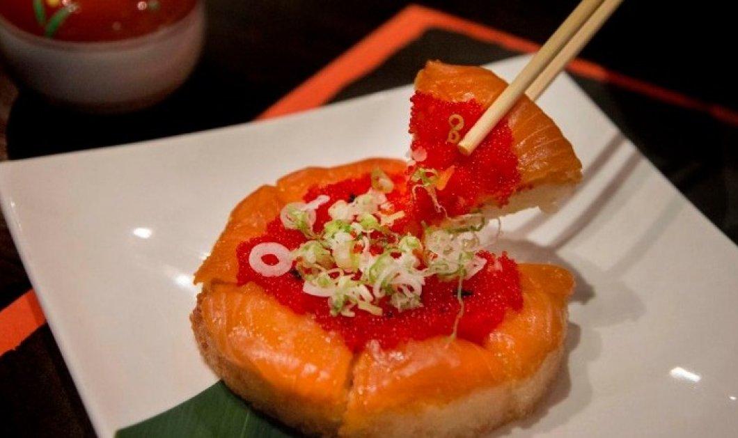 Πίτσα αλά… σούσι σε ιαπωνικό εστιατόριο στο Τορόντο - Κυρίως Φωτογραφία - Gallery - Video