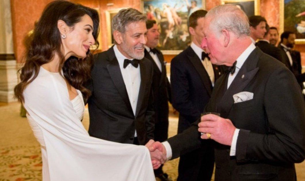 Βραβείο «Αμάλ Κλούνεϊ»! Ο Πρίγκιπας Κάρολος την βάζει «σημαιοφόρο» στο ίδρυμα του  - Κυρίως Φωτογραφία - Gallery - Video