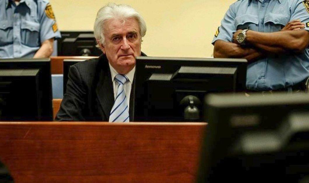 """Ισόβια έγιναν τα 40 χρόνια για τον Ράντοβαν Κάρατζιτς - """"Διέπραξες την σφαγή 8000 μουσουλμάνων στην  Σρεμπρένιτσα"""" - Κυρίως Φωτογραφία - Gallery - Video"""
