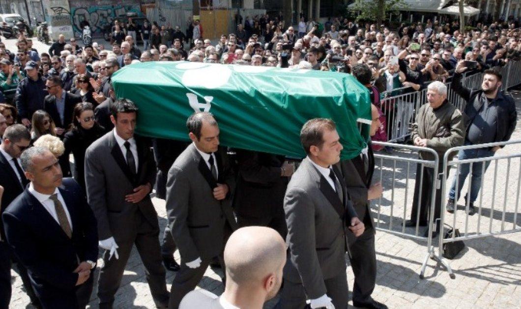 Συγκινητικές στιγμές στην κηδεία του Γιαννακόπουλου - «Αντίο Θανάση» (φωτό & βίντεο) - Κυρίως Φωτογραφία - Gallery - Video