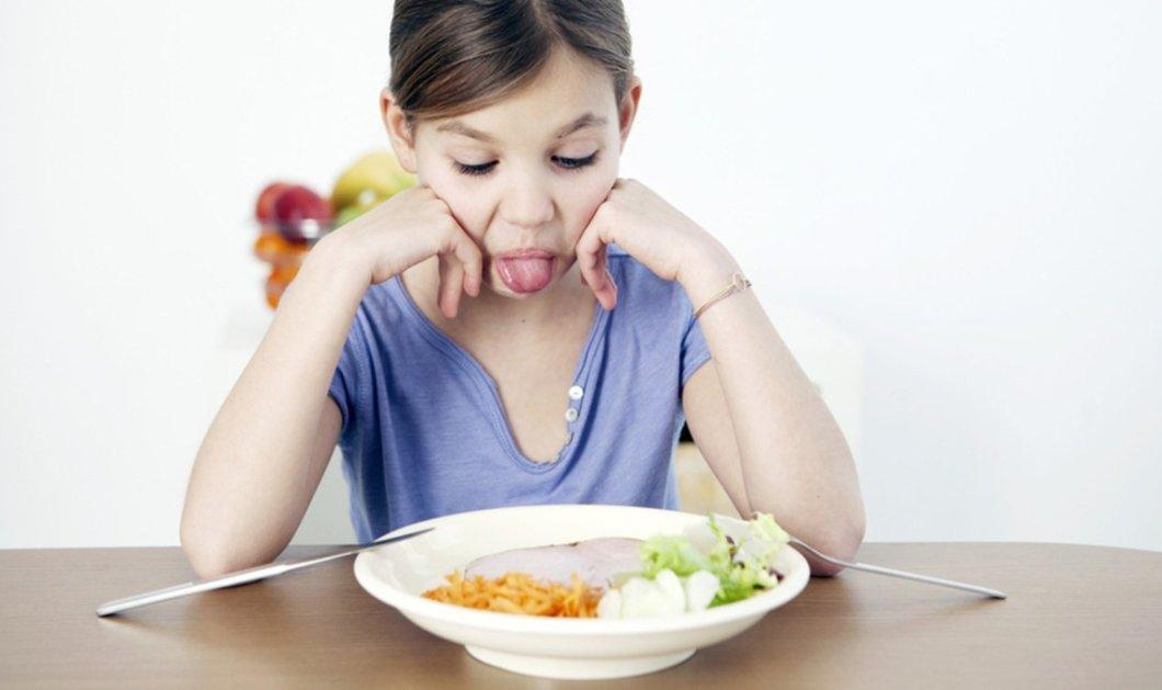 Μην πιέζετε το παιδί σας να καταναλώσει το φαγητό που δεν θέλει - Κυρίως Φωτογραφία - Gallery - Video