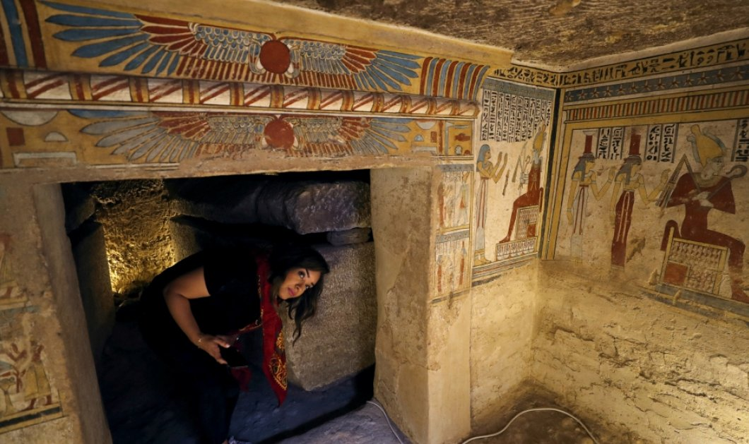 """Σπουδαία ανακάλυψη! Μούμιες 2000 ετών με παιδιά , ποντίκια, γεράκια  & γάτες """"ξαναζωντάνεψαν"""" σε τάφο της Αιγύπτου (φώτο)  - Κυρίως Φωτογραφία - Gallery - Video"""