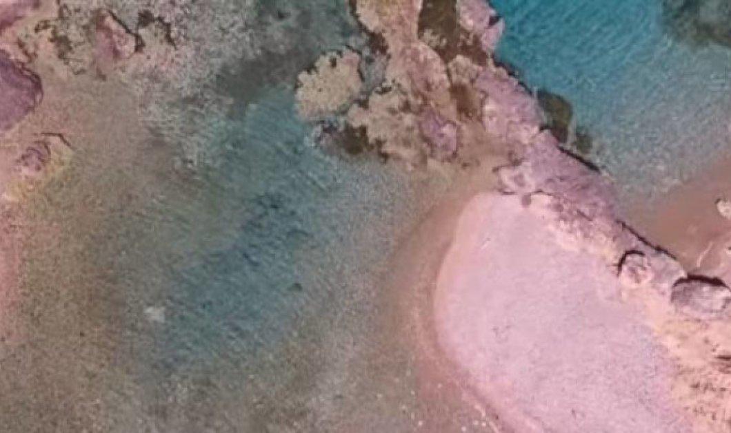 Βίντεο της ημέρας: Μια φυσική «πισίνα» στη σκιά του ακριβότερου ξενοδοχείου της Ευρώπης στο Πόρτο Χέλι - Κυρίως Φωτογραφία - Gallery - Video